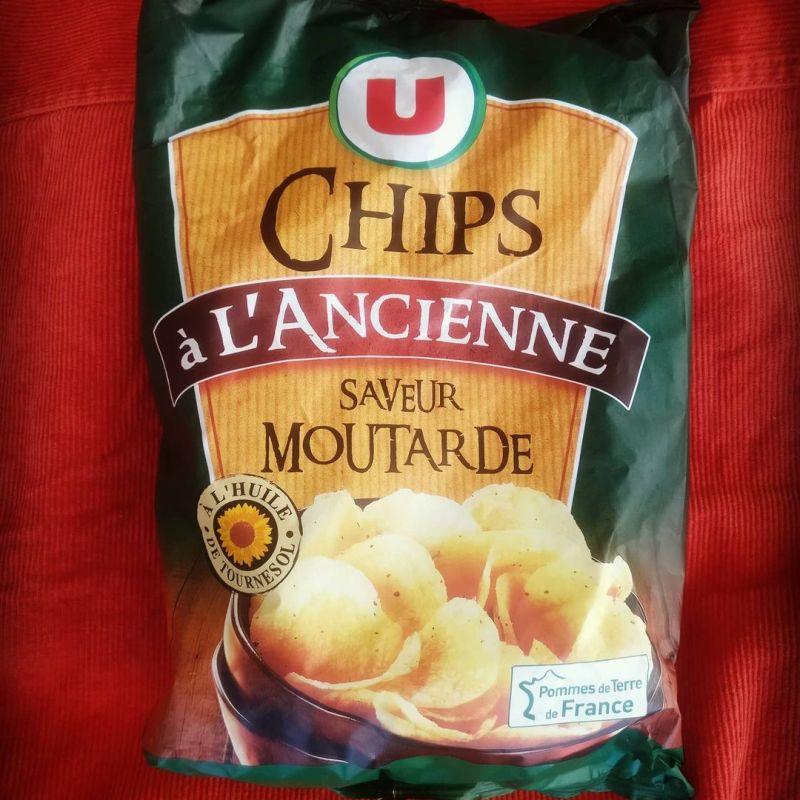 Chips à L'Ancienne: Saveur Moutarde